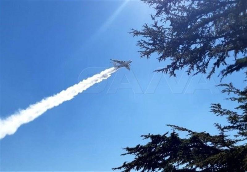 Iran Helps Syria Army Combat Wildfire in Hama, Lattakia