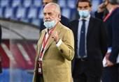 رئیس ناپولی به کرونا مبتلا شد