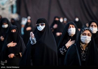 تجمع مردم تهران در اعتراض به هتک حرمت پیامبر اسلام(ص) - میدان امام حسین(ع)