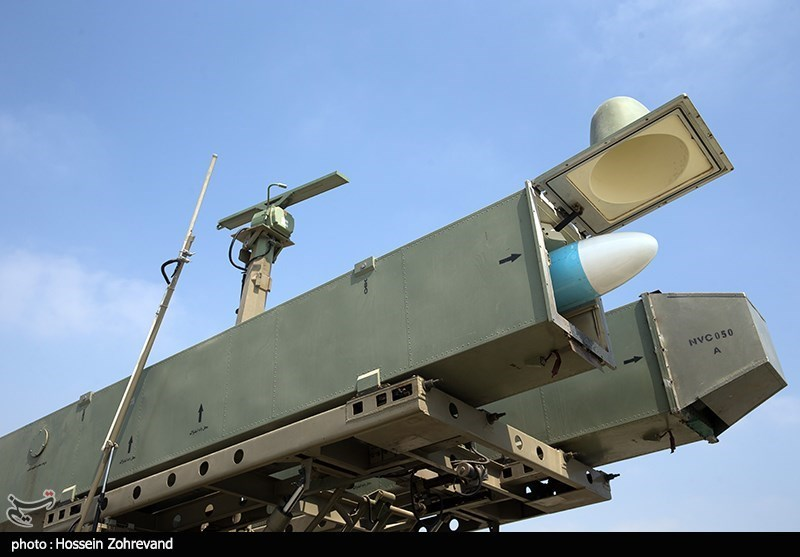 شلیک موشک قادر در رزمایش ذوالفقار 99 ارتش