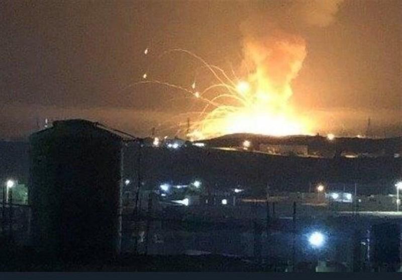 وقوع انفجاری مهیب در اردن
