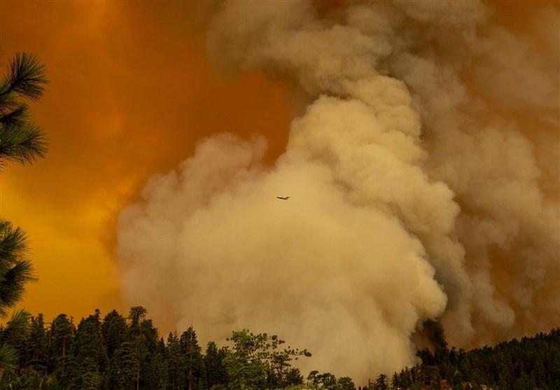 آلودگی شدید هوای 5 شهر مهم و بزرگ ایالت اورگن به دلیل آتش سوزی