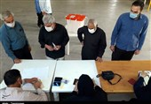 حضور مردم کرمانشاه در مرحله دوم انتخابات مجلس + گزارش تصویری