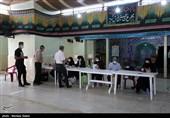 مشارکت 11 هزار نفر تاکنون در مرحله دوم انتخابات بندرترکمن / رعایت بهداشت در شعب اخذ رای+فیلم