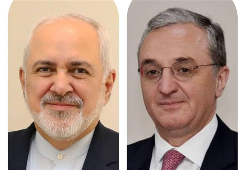 رایزنی تلفنی وزرای خارجه ایران و ارمنستان