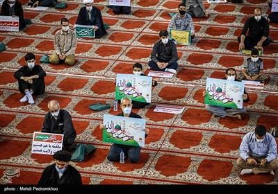 تجمع اعتراضی به هتک حرمت پیامبر اسلام(ص) -اهواز