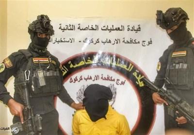 عراق  دستگیری دو تروریست و کشف دو بمب در دیالی