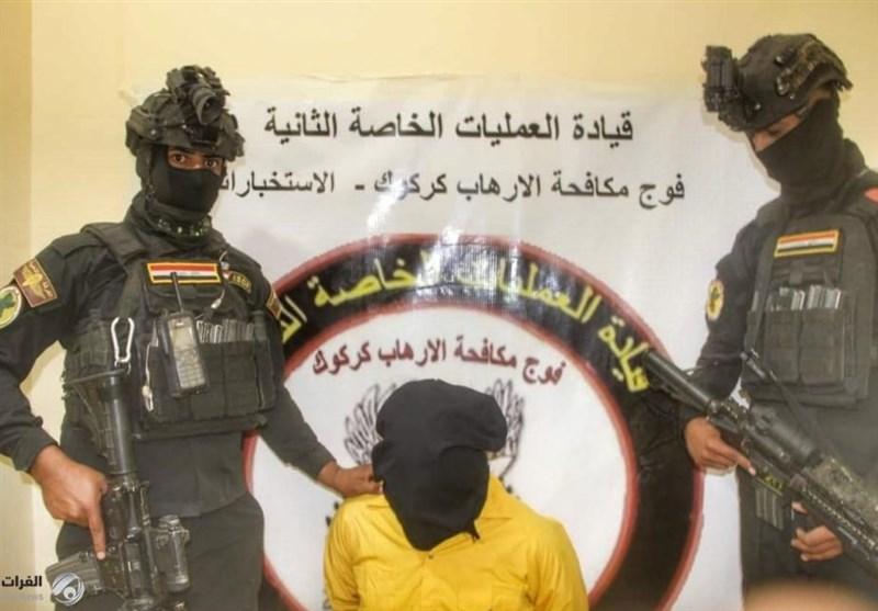 عراق دستگیری یک تروریست داعشی در الانبار