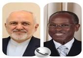 گفتگوی تلفنی ظریف و وزیر خارجه سنت وینسنت