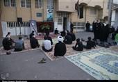 برگزاری مراسم عزاداری دهه سوم ماه محرم مقابل منزل شهید ایمانی به روایت تصویر