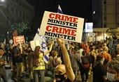 Protests Held against Netanyahu in Jerusalem Al-Quds (+Video)