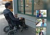 گزارش ویدیویی  گلایه معلولان از عدم مناسبسازی پیادهروهای شهری در گیلان