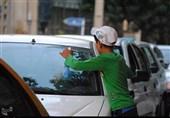 کودکان کار تهرانی تست کرونا می دهند