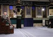 صبح امروز عزاداری شهادت امام سجاد(ع) در بیت رهبری برگزار شد