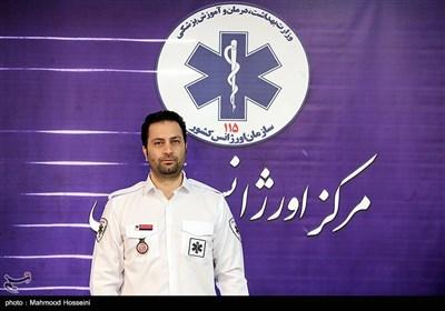 نشست خبری پیمان صابریان رئیس مرکز اورژانس تهران