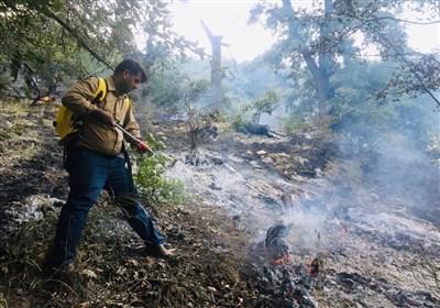 آخرین اخبار از آتشسوزی جنگلهای گچساران؛ شعلههای آتش بیداد میکند