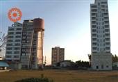 سایه سنگین برج سازان زمین خوار بر سر تنها اردوگاه مناسب سازی شده معلولان+ تصاویر