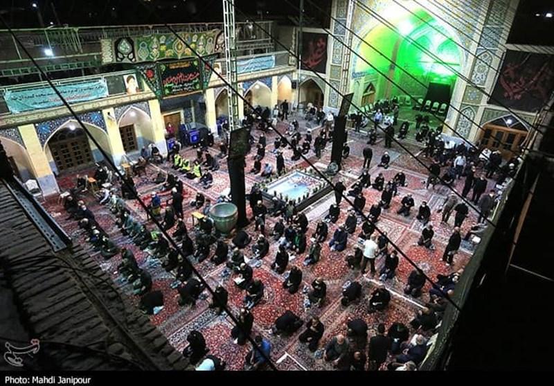 مراسم عزاداری امام سجاد (ع) در اصفهان به روایت تصویر
