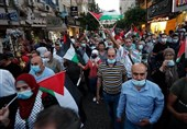 Palestinians Rally against UAE, Bahrain Normalization Deals with Israel (+Video)