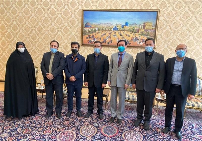 دیدار سفیر چین با گروه دوستی پارلمانی ایران و چین/ تاکید بر گسترش روابط میان دو کشور