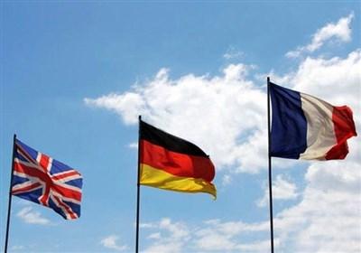 بیانیه ۳ کشور اروپایی درباره نشست شورای حکام آژانس با دستورکار برنامه هستهای ایران