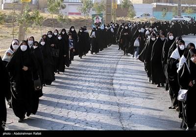 همایش پیاده روی رهروان زینبی در همدان
