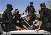 فیلم| گرداندن تعدادی از اراذل شرق تهران
