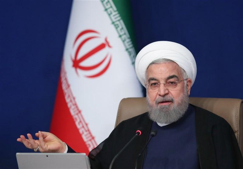 روحانی: ما الآن در شرایط جنگی هستیم که از سال 97 شروع شده است