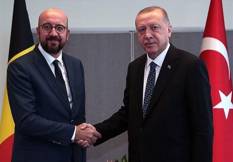 گفتوگوی اردوغان و رئیس شورای اتحادیه اروپا درباره مدیترانه شرقی