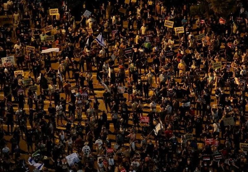 Hundreds Protest in Tel Aviv against New COVID-19 Lockdown Rules (+Video)