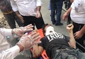 نجات معجزهآسای پسر جوان پس از سقوط به چاه 30 متری + تصاویر