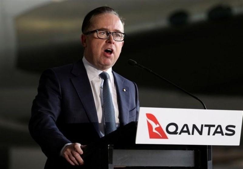 دستمزد رئیس خطوط هوایی کانتاس استرالیا به دلیل بحران کرونا 83درصد کاهش یافت