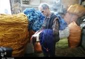 کارگاه رنگرزی سنتی نخ قالی در خراسان شمالی به روایت تصاویر