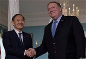 اولین دیدار نخست وزیر ژاپن و پامپئو در آینده نزدیک / رایزنی تلفنی ترامپ و سوگا در روز یکشنبه