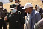 """فیلمبرداری """"ایلدا"""" با حضور فرمانده سپاه لرستان تمام شد"""