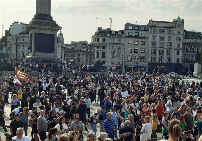 Major Protest Held against Coronavirus Measures in London (+Video)