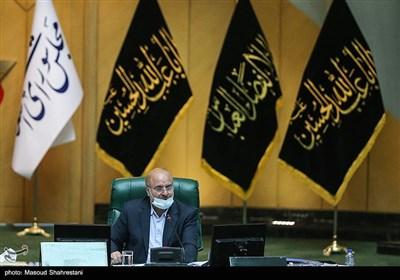 محمدباقر قالیباف رئیس مجلس شورای اسلامی