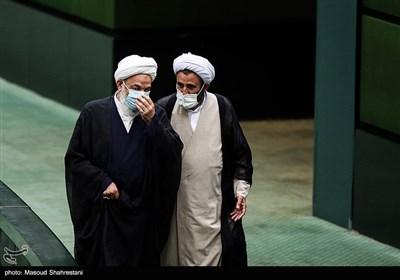 حجت الاسلام آقا تهرانی در جلسه علنی مجلس شورای اسلامی