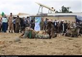 افتتاح نمایشگاه چهلسالگی دفاع مقدس در مازندران به روایت تصاویر