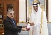 سفیر ایران با امیر و نخستوزیر قطر خداحافظی کرد