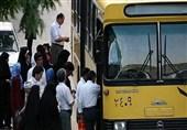پرسهزدن کرونا در اتوبوسهای شلوغ شهر بیرجند/ مسئولان: ناوگان اتوبوسرانی افزایش مییابد
