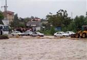 بارش 250 میلی متری باران در تالش طی 24 ساعت