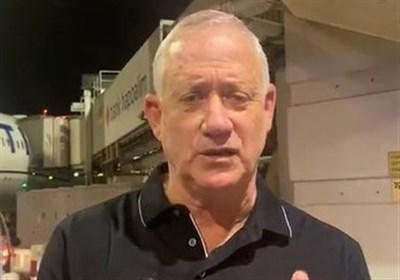 بنی گانتس: سفرم به آمریکا برای تضمین امنیت اسرائیل است