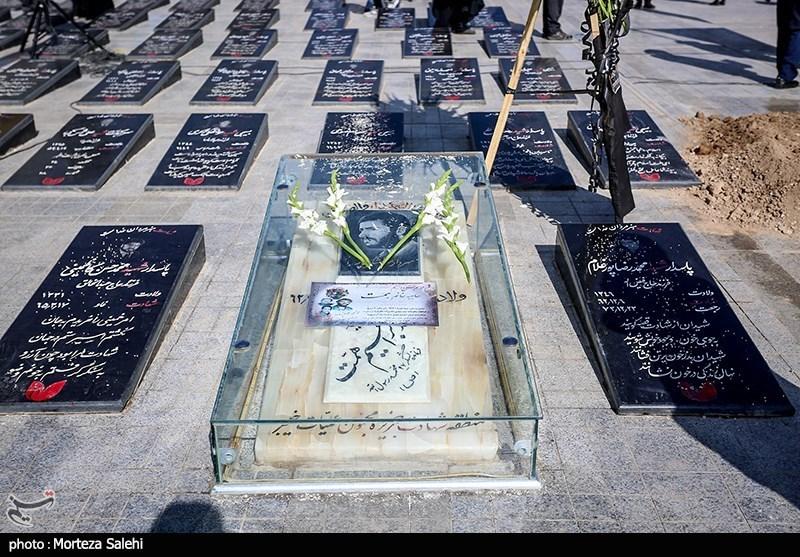 تشییع و خاکسپاری مادر شهید همت - شهرضا