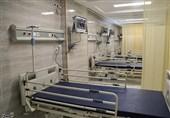 تختهای بیمارستانی در مراکز تأمین اجتماعی برای پیک سوم کرونا در کرمانشاه آماده شد