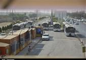 فعالیت ناوگان اتوبوسرانی بوشهر با 50درصد ظرفیت آغاز شد+تصاویر