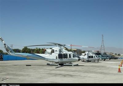 تصاویر الحاق انبوه پهپاد و بالگرد به نیروی دریایی سپاه/ تحویل بالگردهای ۴۱۲ به ندسا
