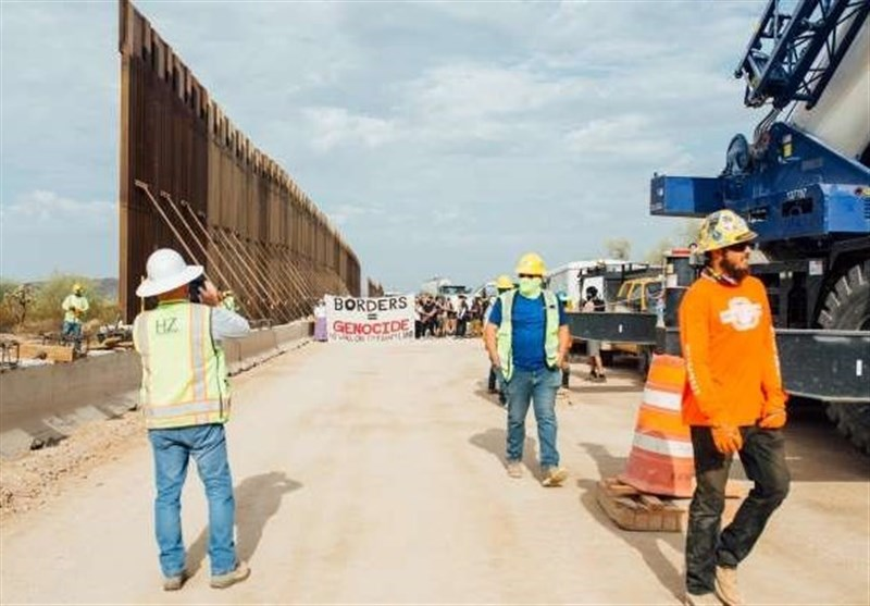Scuffles Break Out at Border Wall Protest in Southwestern Arizona (+Video)