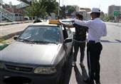 جمعآوری تابلوهای غیرمجاز آژانس از روی خودروهای شخصی