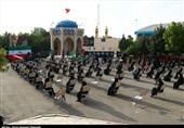 """یادواره شهید """"رضا گنجی"""" در زنجان به روایت تصویر"""